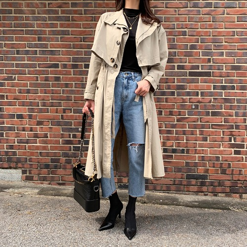 botteg# daily trench coat