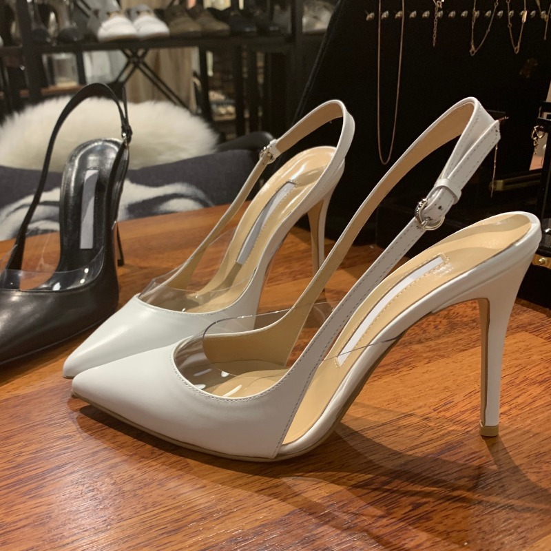 Jimmy cho# pvc slingback pumps